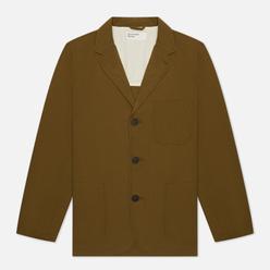 Мужской пиджак Universal Works Three Button Ripstop Cotton Olive