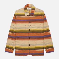 Мужская куртка Universal Works Bakers Mex Blanket Miulti Stripe