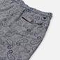 Мужские шорты Universal Works Track Paisley Weave Indigo фото - 2
