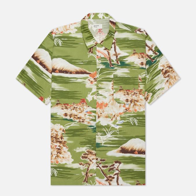 Мужская рубашка Universal Works Road Fuji Summer Print