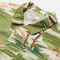 Мужская рубашка Universal Works Road Fuji Summer Print Green фото - 1