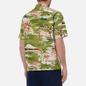 Мужская рубашка Universal Works Road Fuji Summer Print Green фото - 3