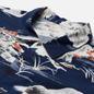 Мужская рубашка Universal Works Road Fuji Summer Print Navy фото - 1