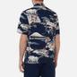 Мужская рубашка Universal Works Road Fuji Summer Print Navy фото - 3