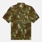 Мужская рубашка Universal Works Road Space Camo Olive фото - 0