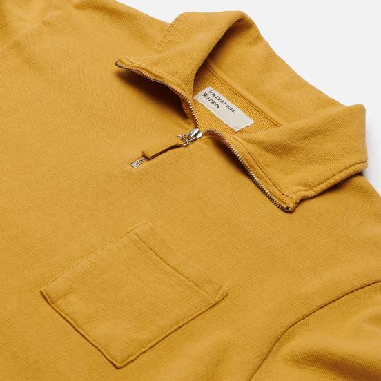 Мужская толстовка Universal Works Half Zip Dry Handle Loopback Gold
