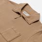 Мужская толстовка Universal Works Half Zip Dry Handle Loopback Sand фото - 1