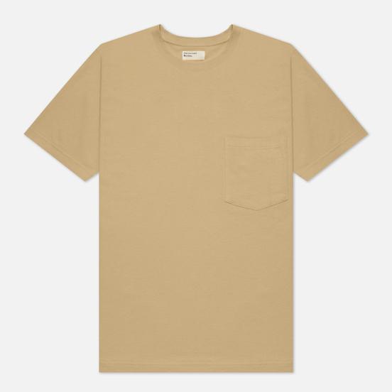 Мужская футболка Universal Works Big Pocket Save That Jersey Stone