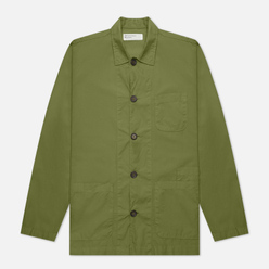 Мужская рубашка Universal Works Bakers Overshirt Poplin Olive