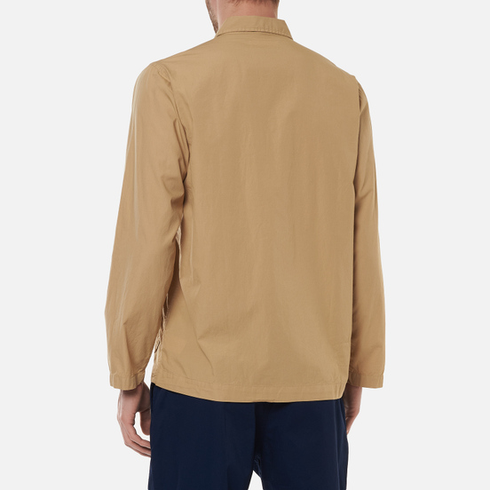 Мужская рубашка Universal Works Bakers Overshirt Poplin Sand