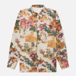 Мужская рубашка Universal Works Humber Pixel Flower Camo