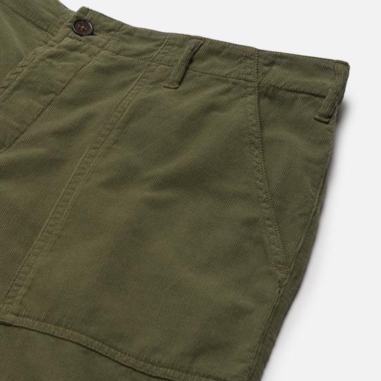 Мужские шорты Universal Works Fatigue Needle Cord Bright Olive
