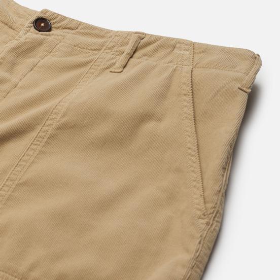 Мужские шорты Universal Works Fatigue Needle Cord Stone