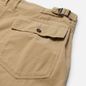 Мужские шорты Universal Works Fatigue Needle Cord Stone фото - 2