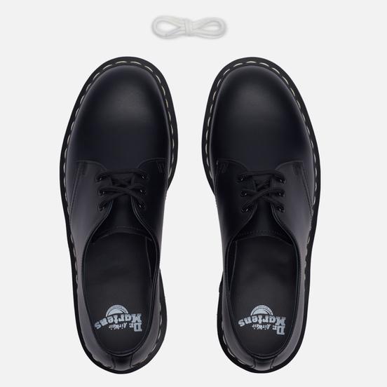 Ботинки Dr. Martens 1461 White Stitch Black