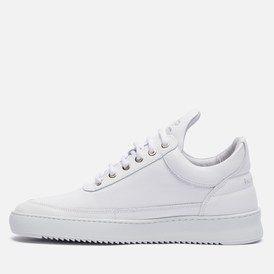 Кроссовки Filling Pieces Low Top Ripple Crumbs All White