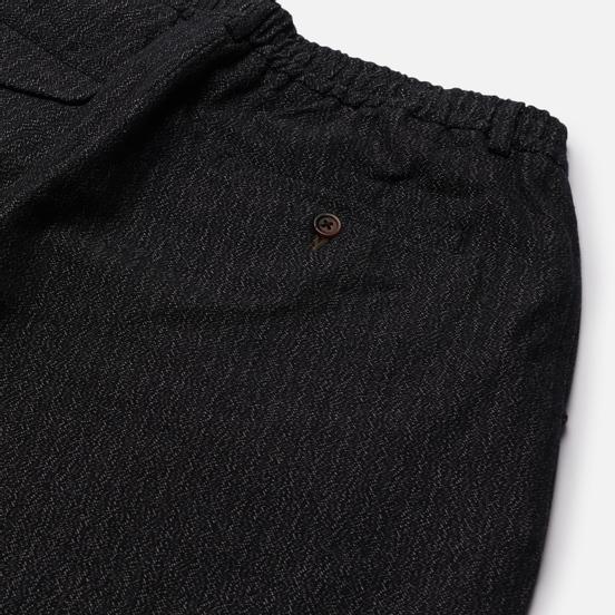 Мужские брюки Universal Works Pleated Track Kharma Cotton Black
