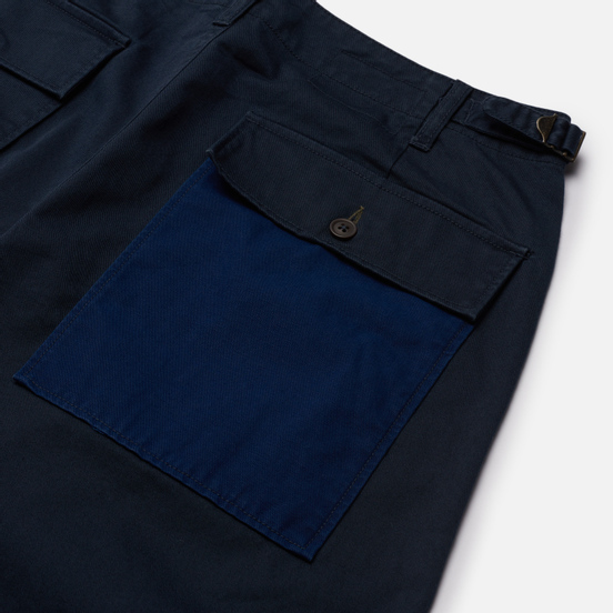 Мужские брюки Universal Works Patched Mil Fatigue Twill Mix Navy