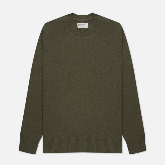 Мужской свитер Universal Works Loose Crew Neck Recycled Wool Cool Green