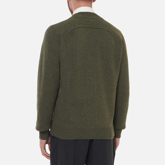Мужской кардиган Universal Works Vince Recycled Wool Cool Green