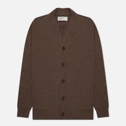 Мужской кардиган Universal Works Vince Recycled Wool Light Brown