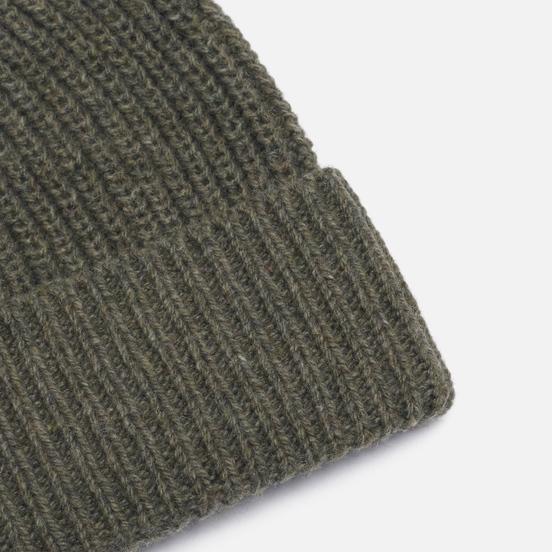 Шапка Universal Works Watch Recycled Wool Cool Green