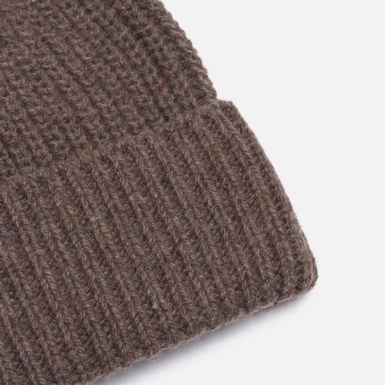 Шапка Universal Works Watch Recycled Wool Light Brown