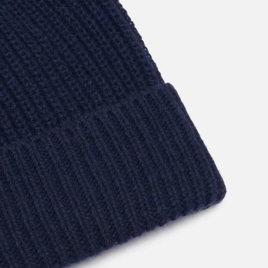 Шапка Universal Works Watch Recycled Wool Navy