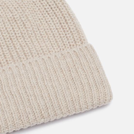 Шапка Universal Works Watch Recycled Wool Sand