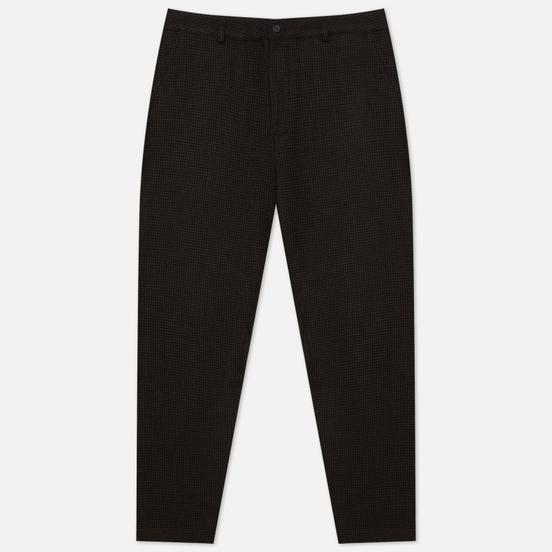 Мужские брюки Universal Works Military Chino Dogtooth Wool Mix Brown