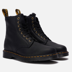 Ботинки Dr. Martens 1460 Pascal Fur Lined 8 Eye Black