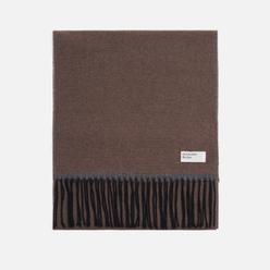 Шарф Universal Works Double Sided Dark Sand/Grey