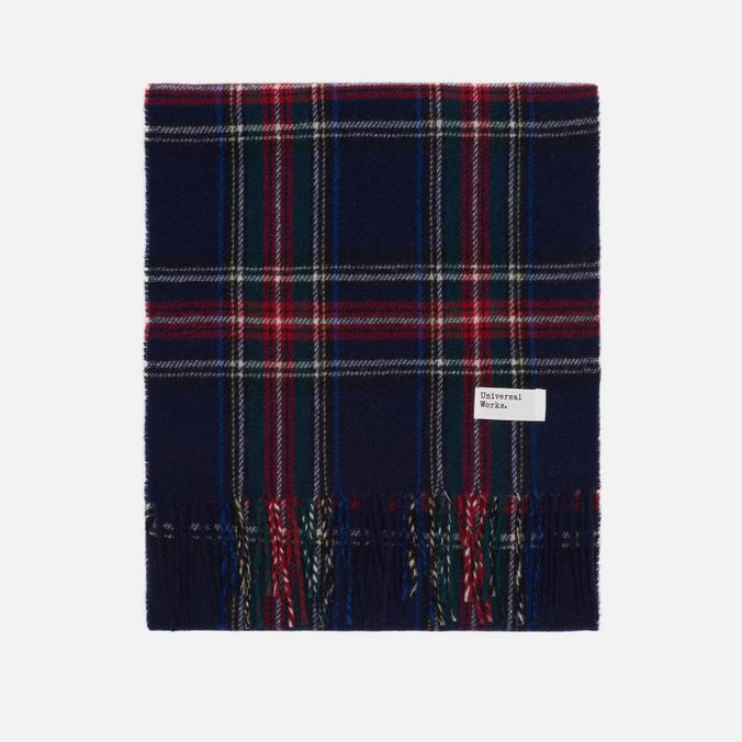 Шарф Universal Works Tartan Wool