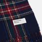 Шарф Universal Works Tartan Wool Navy фото - 1