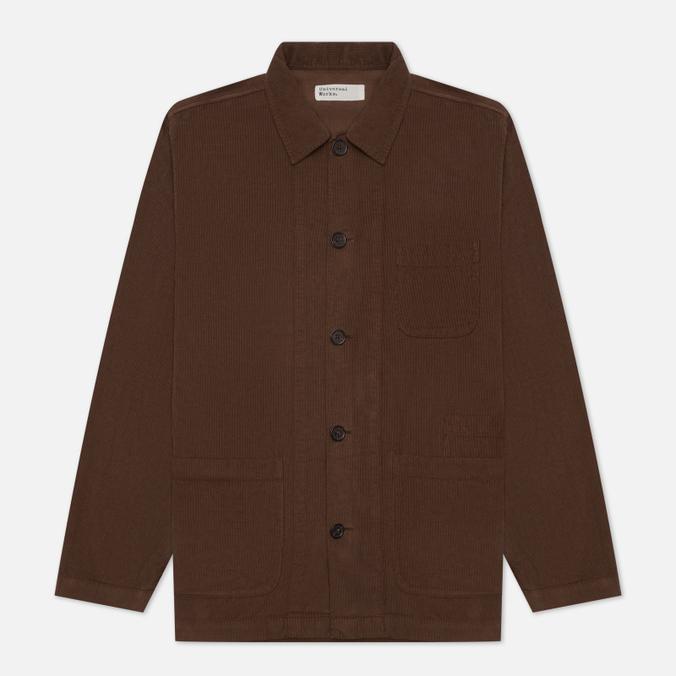 Мужская рубашка Universal Works Bakers Overshirt Fine Cord