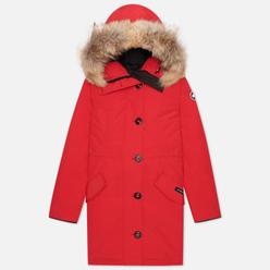Женская куртка парка Canada Goose Rossclair Red