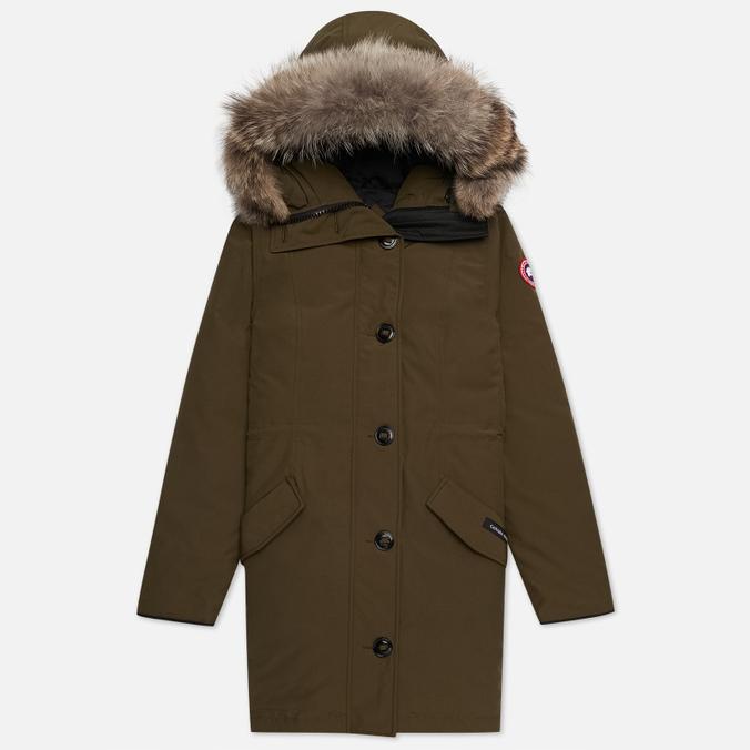 Женская куртка парка Canada Goose Rossclair