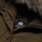 Женская куртка парка Canada Goose Rossclair Military Green фото - 1