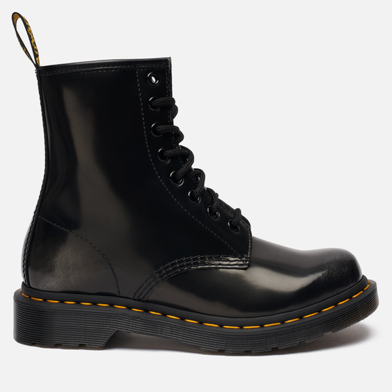 Женские ботинки Dr. Martens 1460 Arcadia Leather Lace Up Silver