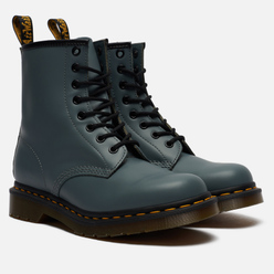 Ботинки Dr. Martens 1460 8 Eye Steel Grey/Bright Silver