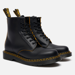 Ботинки Dr. Martens 1460 8 Eye Double Stitch Black/Yellow