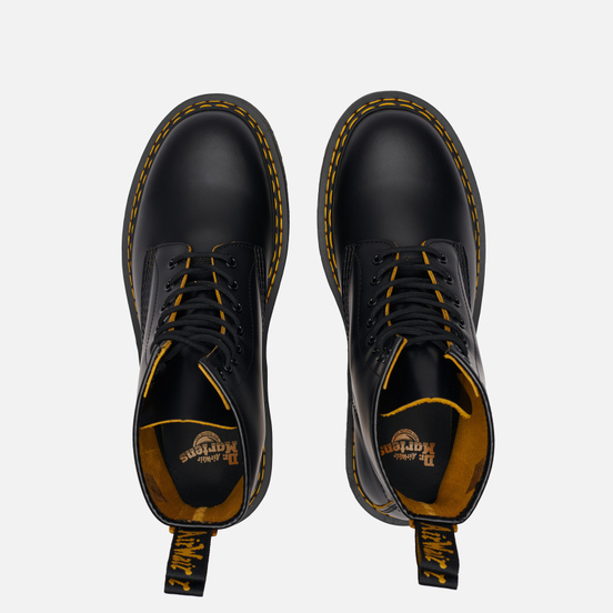 Ботинки Dr. Martens 1460 8 Eye Double Stitch Black/Yellow