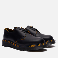 Ботинки Dr. Martens 1461 Double Stitch Leather 3 Eye Black/Yellow