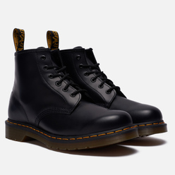 Ботинки Dr. Martens 101 Yellow Stitch 6 Eye Black