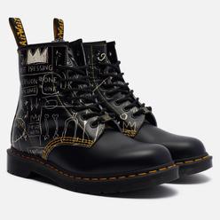 Мужские ботинки Dr. Martens x Jean-Michel Basquiat 1460 8 Eye Black/White