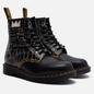 Мужские ботинки Dr. Martens x Jean-Michel Basquiat 1460 8 Eye Black/White фото - 0