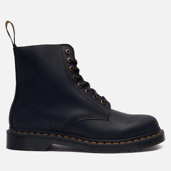 Мужские ботинки Dr. Martens 1460 Pascal 8 Eye Black Wild Buck