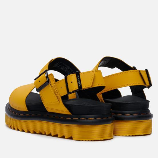 Женские сандалии Dr. Martens Voss Yellow Hydro