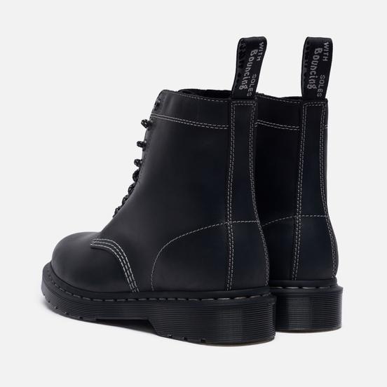 Мужские ботинки Dr. Martens 1460 Pascal 8 Eye Zipped Black Streeter