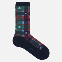 Носки Burlington Tartan Check Navy